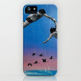 Swimming In The Sky  iPhone Case