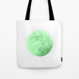 LIME MOON Tote Bag