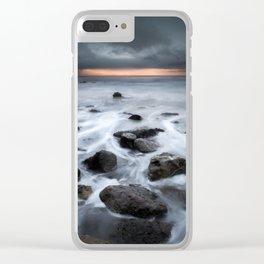 Storm Flow Clear iPhone Case
