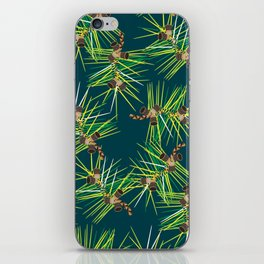 Perennial Needles iPhone Skin