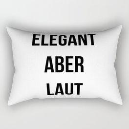 ELEGANT ABER LAUT Rectangular Pillow