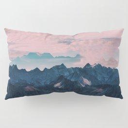 Pastel mountain mood Pillow Sham