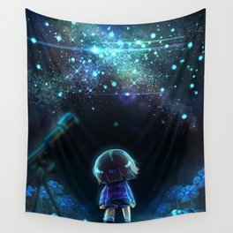 Starry (Night) Undertale Wall Tapestry