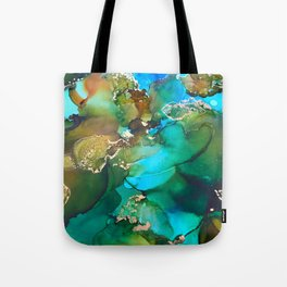 """Abstract Art """"Still Waters"""" Tote Bag"""