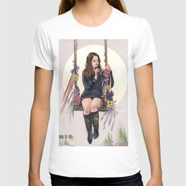 LA to the moon T-shirt