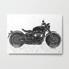My Ride Metal Print