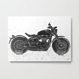 My Ride Metal Print