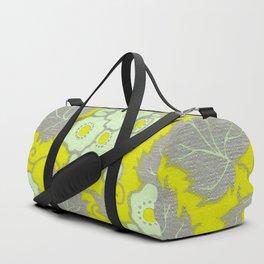 Yellow Blossoms Duffle Bag