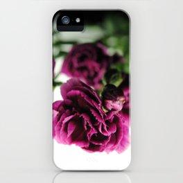 Purple Carnations iPhone Case
