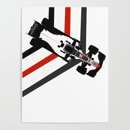 HAAS Formula 1 2016 Poster