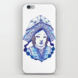Baby Blue #3 iPhone Skin