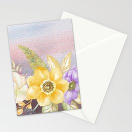 Flowers bouquet 78 Stationery Cards