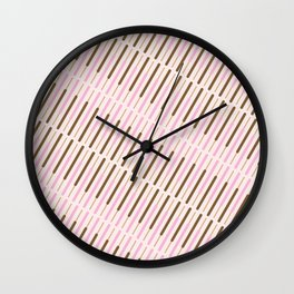 Japanese Chocolate Biscuit Sticks Wall Clock