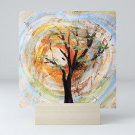 Tree on Tree Mini Art Print