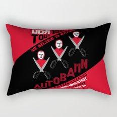 Autobahn--East German Tour 1982 Rectangular Pillow