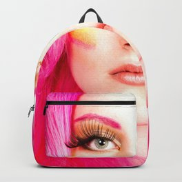 Pink Hair Beauty Model - Catra Backpack