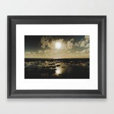 Gold Reef Framed Art Print