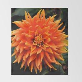very orange Throw Blanket
