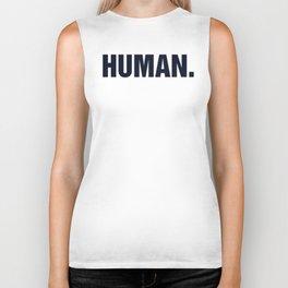 HUMAN. Biker Tank