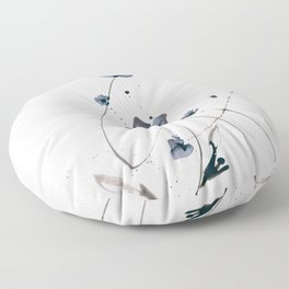 Roseate Jewels No.12w by Kathy Morton Stanio Floor Pillow