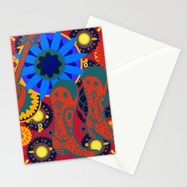 Day of the dead Pete Stationery Cards