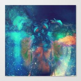Cosmic Twins Canvas Print