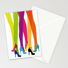 Bright High Heels Stationery Cards