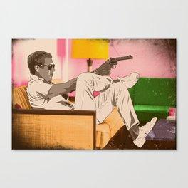 STEVE MCQUEEN Canvas Print