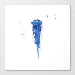 Cobalt Squishy Canvas Print