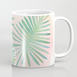 Under The Summer Sun - Palm Fronds Coffee Mug
