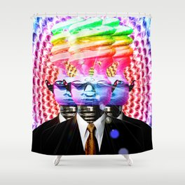 We Are Many. We Are One! Shower Curtain