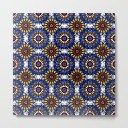 The Damascus pattern . Metal Print