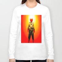 military Long Sleeve T-shirts featuring MILITARY DRESS by Alejandra Triana Muñoz (Alejandra Sweet
