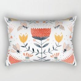 Bee Well Rectangular Pillow
