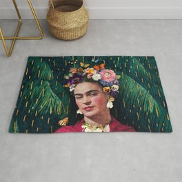 Frida Kahlo :: World Women's Day Rug
