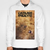 book cover Hoodies featuring Cathair Apocalypse Book 1 Cover by Cathair Apocalypse