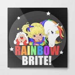 Rainbow Brite and Friends! Metal Print