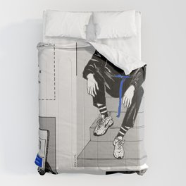 Downstairs Comforters
