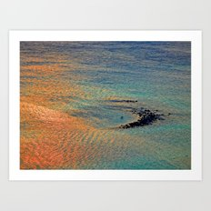 Colors of the Caribbean Art Print