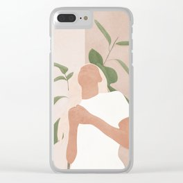 Gracefully Clear iPhone Case