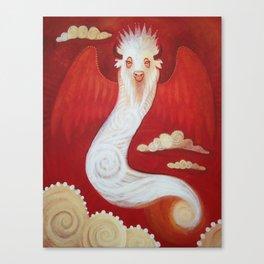 White Bison Canvas Print
