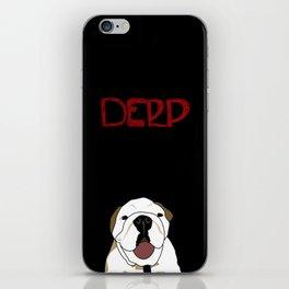 Derp Case iPhone Skin