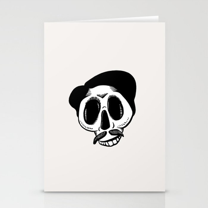 The Most Best Skull Stationery Cards