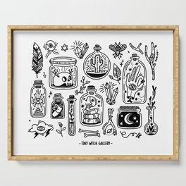 The Tiny Witch Gallery Serving Tray