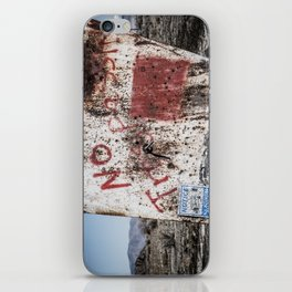 No Trespassin' in the Desert iPhone Skin