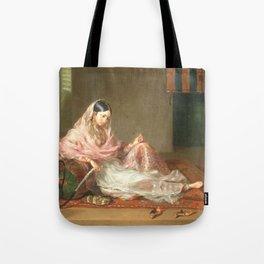 Muslim Lady Reclining - Renaldi Tote Bag