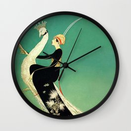 Vintage Magazine Cover Wall Clock