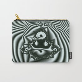 Op Art 2 (black & white version.) Carry-All Pouch