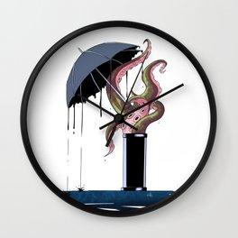 Ink rain Wall Clock