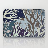 under the sea iPad Cases featuring Under the Sea - Abstract by Paula Belle Flores